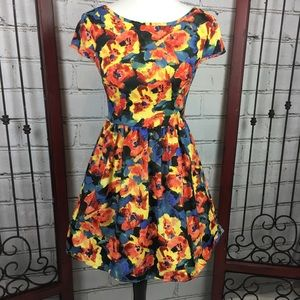 ⬇️ B Darlin Floral Dress Crinoline under Skirt 3/4